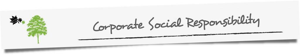 Zwischenüberschrift: Corporate Social Responsibility